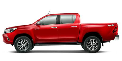 Rent a Car Toyota Hilux